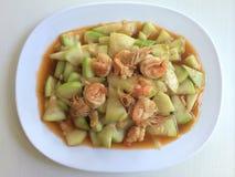 sopro do camarão do cabaceiro Fotografia de Stock