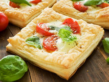 Sopro-pizzas imagens de stock