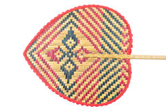 Sopro velho do weave da parte traseira isolado no fundo branco Imagem de Stock Royalty Free