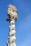 Sopron. Town in Hungary. Plague Column (Marian Column Royalty Free Stock Images