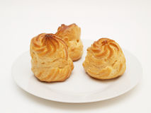 Sopros da pastelaria dos Choux Fotografia de Stock Royalty Free