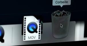 Soptunna iMac arkivfilmer