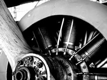 Sopwith. Close view of sopwith engine Stock Photos