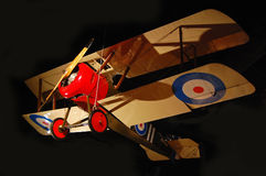 1917 Sopwith Camel biplane. WWI aircraft Sopwith Camel biplane at Boeing Museum of Flight. Seattle Stock Photo