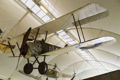 Sopwith Camel World War 1 fighter aircraft. London, United Kingdom - 6 September 2013: Sopwith F1 Camel on display in the RAF museum London Stock Image