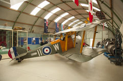 Sopwith Camel WWI fighter. Sopwith Camel on display at Montrose Air Station Museum in Scotland UK Stock Photo