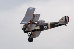 Sopwith Triplane. A Sopwith Triplane being displayed at the Shuttleworth Collection Old Warden Royalty Free Stock Image