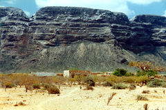 Soqotra island. In Yemen, Indian Ocean stock photo
