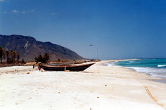 Soqotra island. In Yemen, Indian Ocean royalty free stock photo