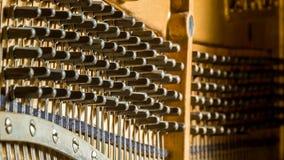 Soquetes de ajustamento do piano Imagens de Stock Royalty Free