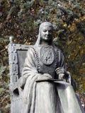 Sor胡安娜Ines雕象在马德里,西班牙 免版税库存图片