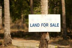 sor σημαδιών πώλησης εδάφου&sigm Στοκ εικόνες με δικαίωμα ελεύθερης χρήσης