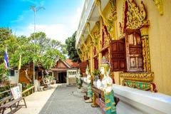 Sor de Laem de la pagoda, Tailandia Koh Samui Imagen de archivo libre de regalías