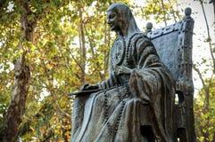Sor Juana Ines. Statue of the nun and writer of Mexico sor Juana Ines de la Cruz Stock Image