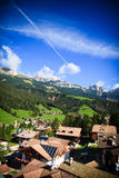 Soraga, val di Fassa Royalty Free Stock Photos