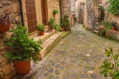 Free Sorano City Street Royalty Free Stock Images - 66835549