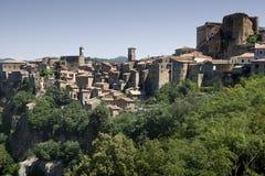 Sorano (Italy) Royalty Free Stock Image