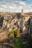 Sorano medieval town on Tuscany, Italy, Europe. Stock Image