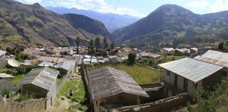 Sorata,玻利维亚 库存照片