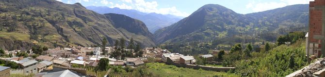 Sorata,玻利维亚 免版税库存照片