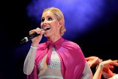 Soraya (singer) at Primavera Pop Festival by Los 40 Principales Stock Photos