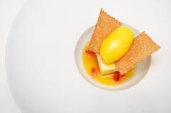 sorbet вычуры десерта clementines Стоковое фото RF