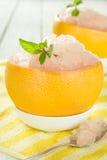 Sorbet грейпфрута Стоковое Изображение