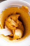 Sorbet персика Стоковые Фото