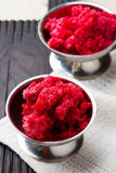 Sorbet from cherry Stock Photos