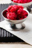 Sorbet from cherry Stock Image