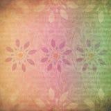 Sorbete floral Imagen de archivo libre de regalías