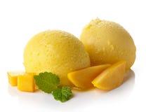 Sorbetto del mango immagini stock libere da diritti