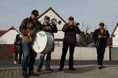 Sorbian Carnival in Lower Lusatia, Germany. Royalty Free Stock Image