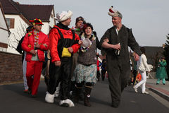 Sorbian Carnival in Lower Lusatia, Germany. Stock Images
