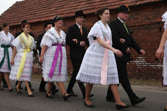 Sorbian Carnival in Lower Lusatia, Germany. Royalty Free Stock Photo