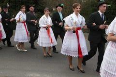 Sorbian Carnival in Lower Lusatia, Germany. Royalty Free Stock Photo
