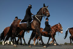 Sorbian Easter Riders in Upper Lusatia, Saxony, Germany. Stock Image