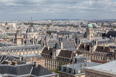 Sorbonne Copper Roof Tower Paris France Royalty Free Stock Photo