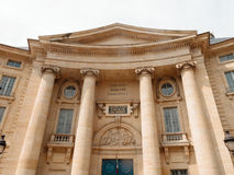 Sorbonne Law School. Faculty of Law, Sorbonne, Paris stock photos