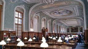The sorbonne library Royalty Free Stock Images