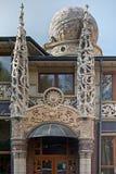 Sorbonne Luxerestaurant in Chernivtsi, de Oekraïne royalty-vrije stock afbeeldingen