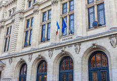 Sorbonne, Paris, France. Sorbonne University in Paris, France stock photo