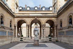 Sorbonne Universität Paris Frankreich Stockbild