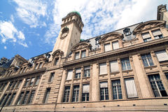 Sorbonne University. In Paris, France royalty free stock photos
