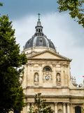 Sorbonne University. Famous Sorbonne University in Paris, France Stock Photo