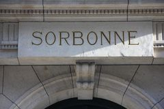 Sorbonne Royalty Free Stock Image