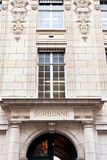 Sorbonne - university of paris. Building of sorbonne - university of paris, france Royalty Free Stock Photography