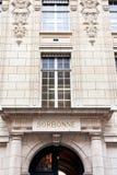 Sorbonne - university of paris Royalty Free Stock Photography