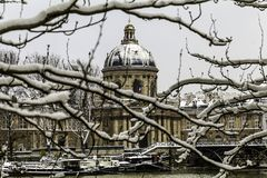 Sorbonne, University of Paris. The Sorbonne is a building of the Latin Quarter in the 5th district, property of the town of Paris. It draws its name from the royalty free stock photos