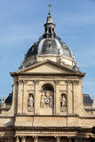 Sorbonne University in Paris. France. Name is derived from College de Sorbonne, founded by Robert de Sorbon - one of first colleges of medieval University Stock Images
